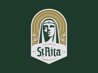 St. Rita Catholic Community Badge