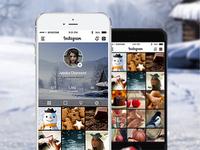 Instagram | App Design Concept