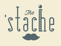 The 'Stache Logo