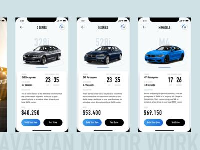BMW Car Catalog App