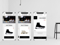 Balenciaga Concept App