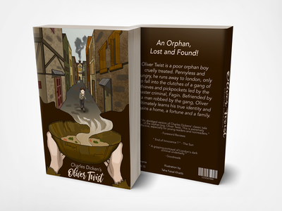 Story Book Cover - Oliver Twist