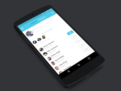 Create Private Chat