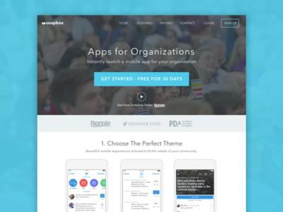 Soapbox Website