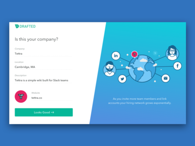 Drafted Onboarding