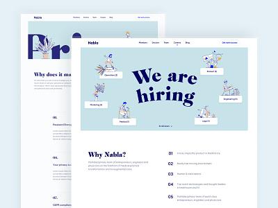 Nabla hiring careers nabla branding anagram