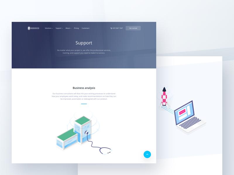 Landing page illustrations ✌️ emmanuel julliot analysis web platform page landing illustration gradient emmanuel documents support collaboration