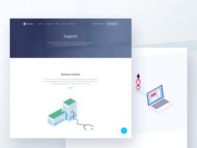 Landing page illustrations ✌️