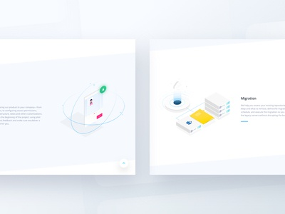 Random illustrations 🌈 collaboration compliance documents emmanuel julliot gradient illustration landing page platform web workflow