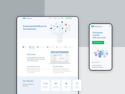 Website Design for an IT service provider