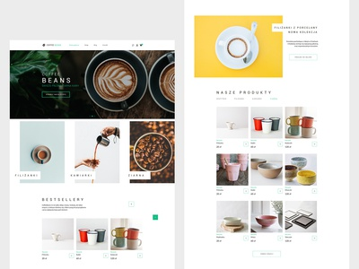 CoffeeBeans - Webdesign