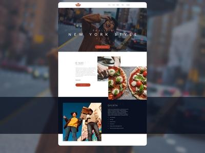 Paulie's Pizza - Webdesign