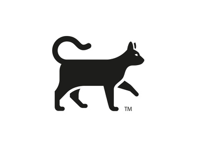 Egyptian Cat logo design icon cat animal identity corporate outdoors
