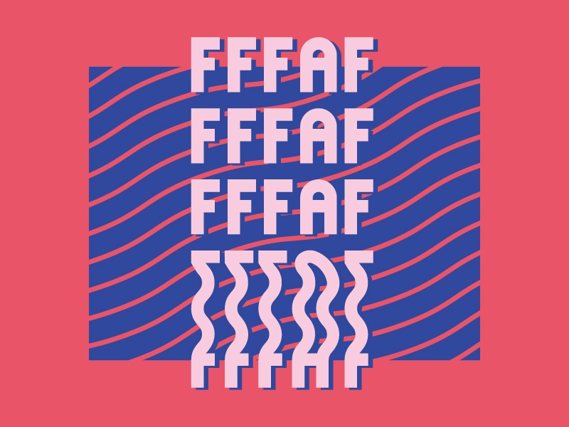 #FFFAF Concept Art branding vector logo design lettering illustrator graphic design typography event branding event artwork concept art concept