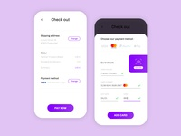 Credit Card Checkout - UI Weekly #2