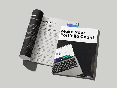 Make Your Portfolio Count: Free E-Book graphic design ui design ui design website freelance web design portfolio