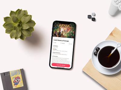 Cardboard Nerd Board App website typography web design mobile app design app design android ios ui design ux ui
