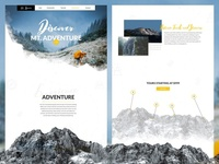 Adventure Website Designs