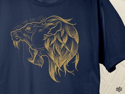 Lion Shirt Graphic Closeup graphic tee lion shirt design t-shirt