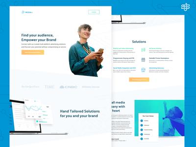 Mediabit Website responsive web website design ui design web design website
