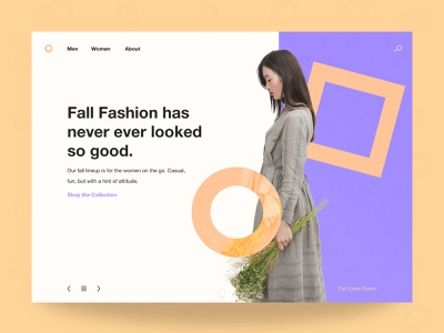 Break The Mold - Homepage Header ui design graphic design design ux website ui web design homepage design homepage