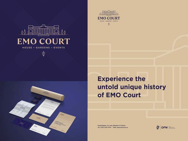 Emo Court | Branding marca stationery business card poster poster design park emo court emo logo identity design design branding brand identity brand design