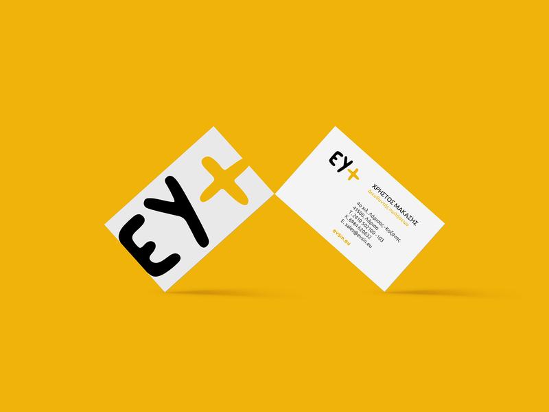 EY+  business cards business card businesscard highprotein protein meals meal eat food minimalism minimal design greek alphabet typography visual identity logotype logo branding brand identity greek greece