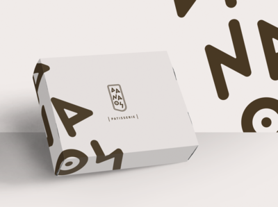 DANAOS Patisserie packaging