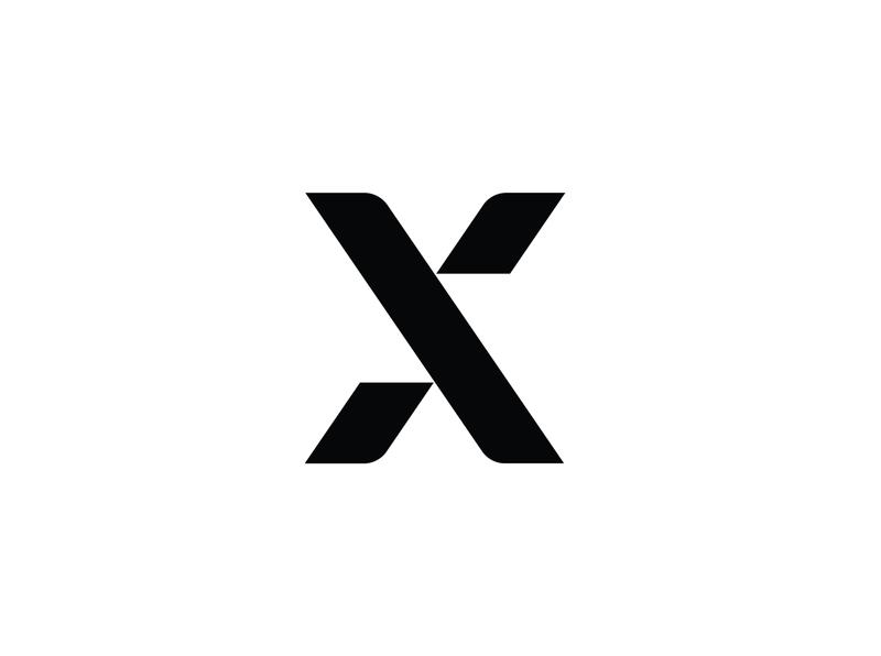 Xhristakis Graphic Design logo greek branding brand identity visual identity simple flatdesign logotype x black and white greece graphicdesign graphic designer typography logo typography minimalistic logo minimalism logo
