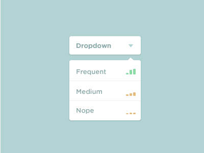 Simple Dropdown flat simple ui dropdown drop down stats