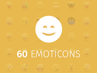 60 Emoticons emoticon icon illustration smiley behance