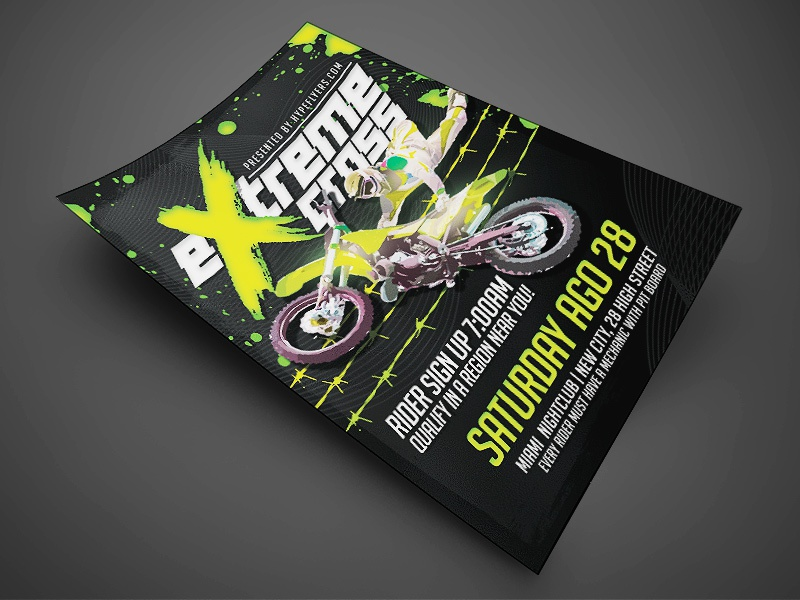 Band Event Flyer Template Original By Jay Key - Dribbble
