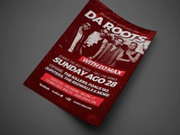 Band Event Flyer Template  Original