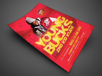 Artist Music Event Flyer Template By Jay Key Dribbble - Event brochure template