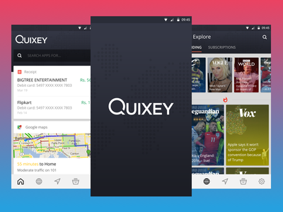 Quixey app mobile search views deep screens app quixey android