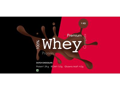 Bottle Stickter workout gym chocolate bottle label complex powder protein whey
