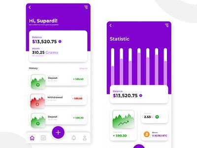 Currency Apps UI Design ui mobile design mobile design ui apps ui design ui mobile apps ui flatdesign design apps design apps design