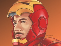 Ironman Vector