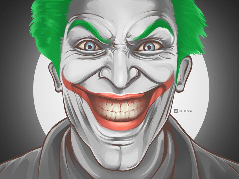 Joker By Flush Design On Dribbble