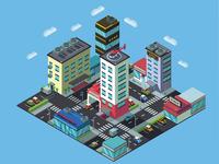 Isometric City Part 2