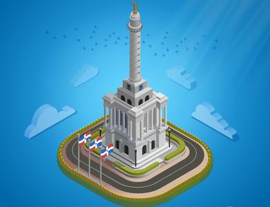 Santiago's Monument