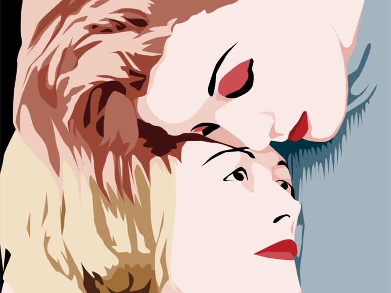 The Smallest Moment lgbtq vector art poster design illustration