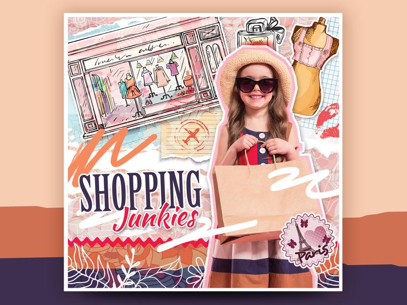 Kids Photo Design Shopping Junkies Scrapbook Style scrapbooking scrapbook