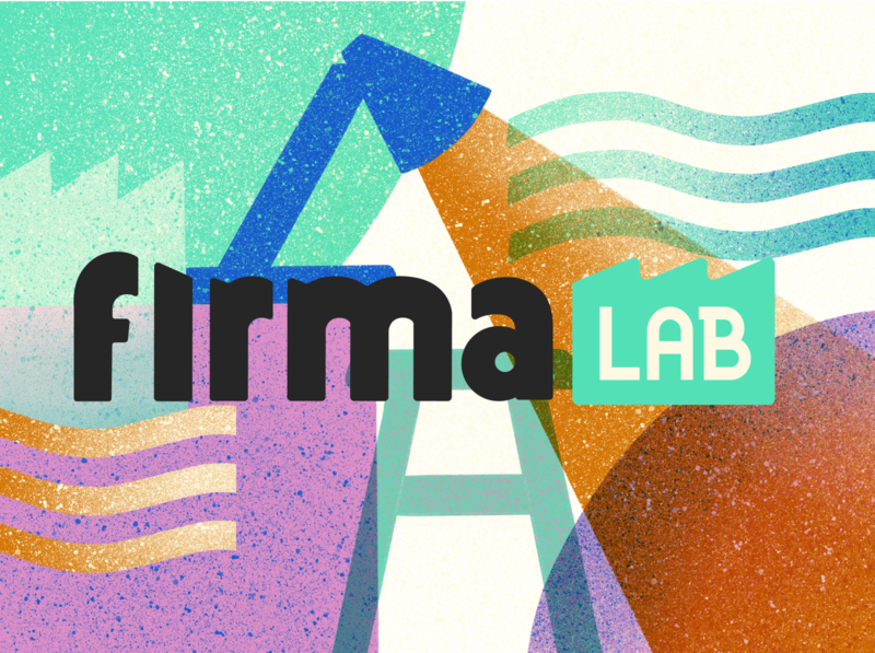 Firma Lab visual  identity design branding logo art direction illustration