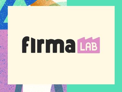 Firma Lab logo visual identity visual  identity branding illustration art direction