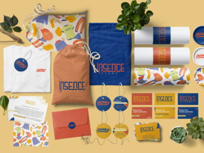 Insence Products Mockup