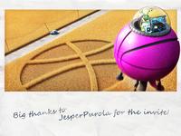 Hello world of Dribbble!