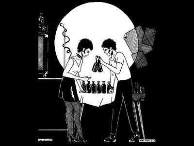 The Spotlight illustration winston smith