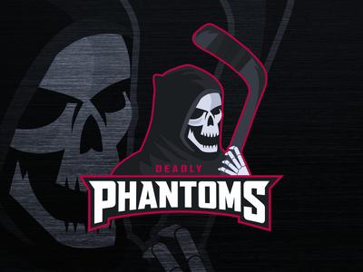 Deadly Phantoms Mascot