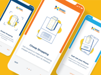 Onboarding for Grocery Store App